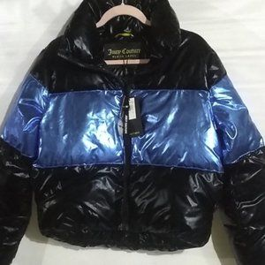 Juicy Couture Black Label Puffer Coat NWT